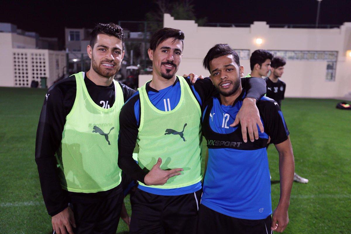 آخرین تمرین یاران پورعلی گنجی پیش از دربی قطر+تصاویر
