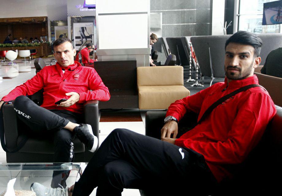 از تهران تا دوحه؛ کاپیتان های پرسپولیس کنار هم! + عکس