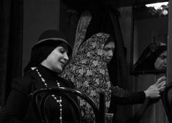 تسلیت بازیگر تئاتر در پی سانحه هواپیمای تهران - یاسوج +عکس