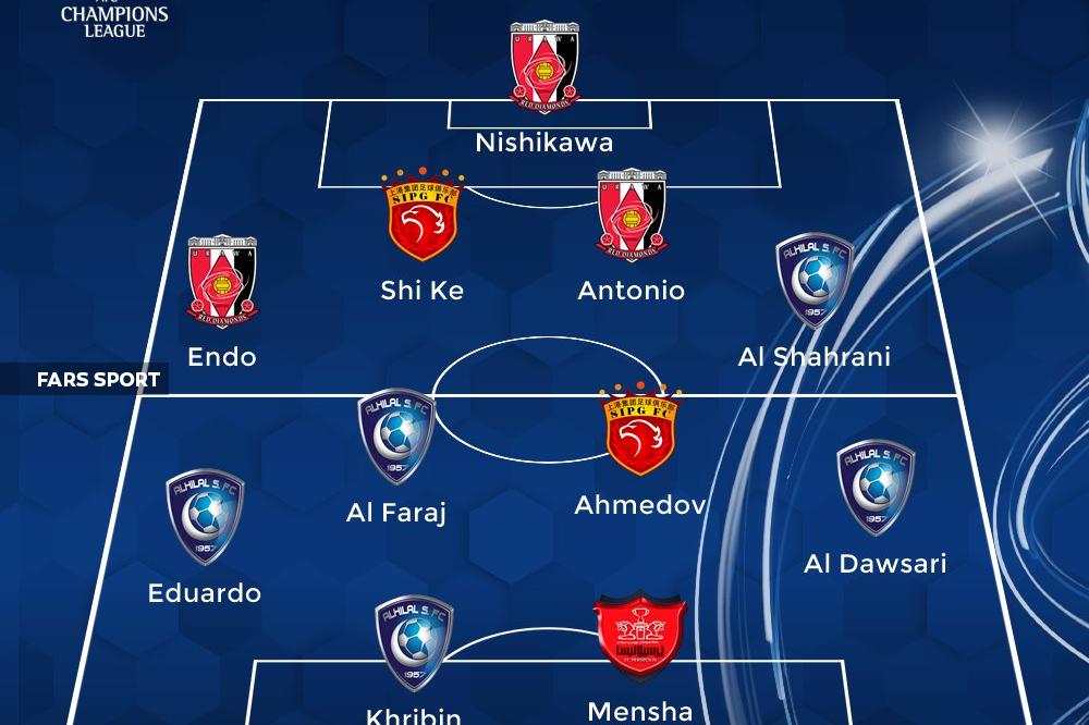منشا در تیم منتخب دور برگشت نیمه نهایی لیگ قهرمانان آسیا+عکس