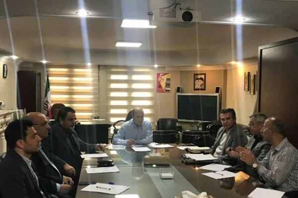 نشست رئیس فدراسیون فوتبال با سرمربی تیم ملی امید ایران