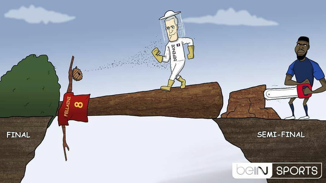 شاگردان دشان با کمک اومتیتی راهی فینال شدند/کاریکاتور
