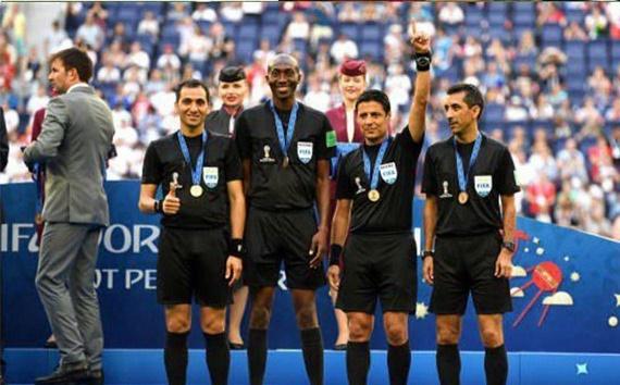 مدال فیفا بر گردن فغانی و تیمش