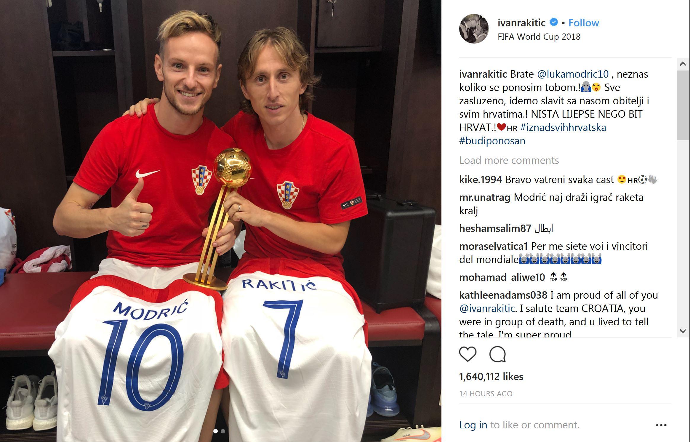 اتحاد ستاره های رئال و بارسا پس از جام تاریخی+عکس