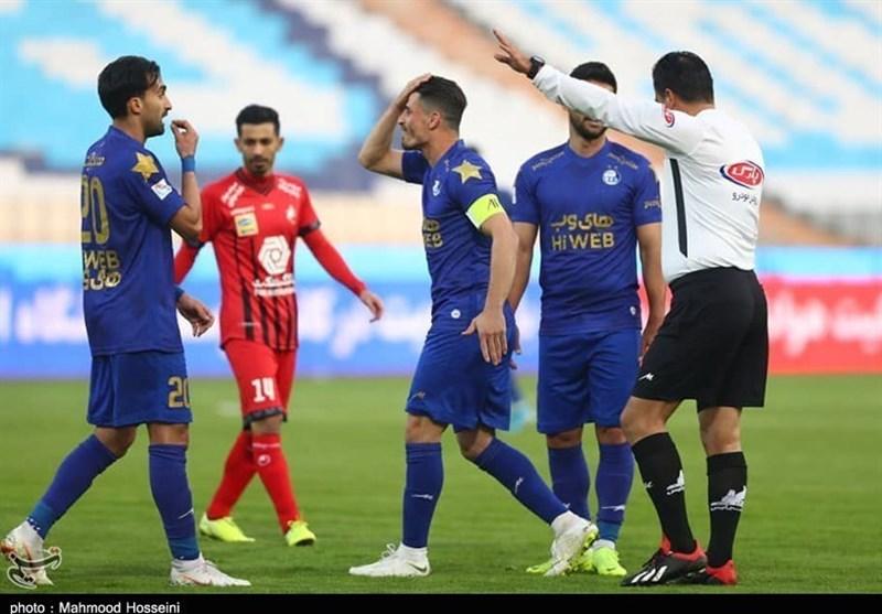داوران فوتبال ایران , فوتبال , لیگ برتر فوتبال ,