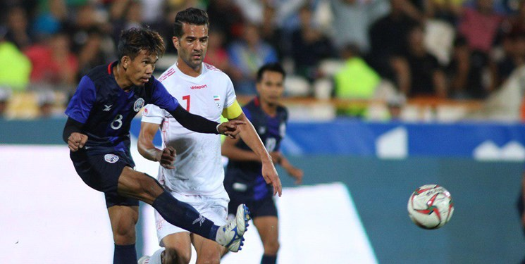 ایران- کامبوج دیداری بدون مربیان بازی رفت